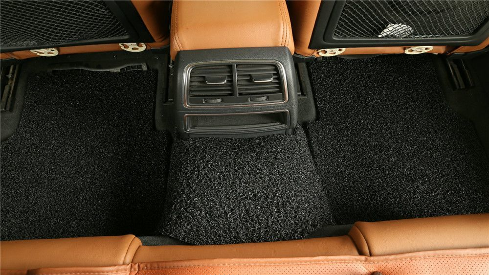 goroo car mats back row black