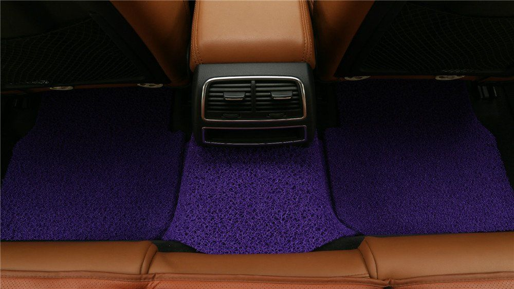 goroo car mats back row purple