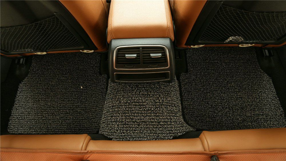goroo car mats back row black and grey